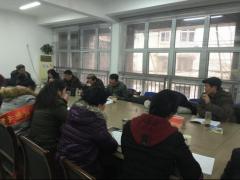 黄思湾社区组织召开专题民主生活会