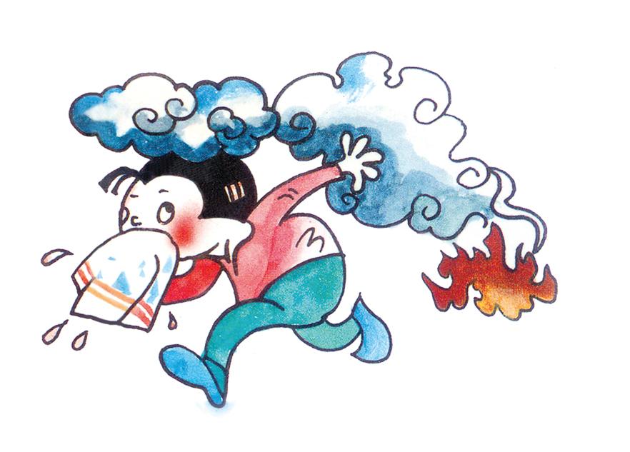 消防安全—逃生十策
